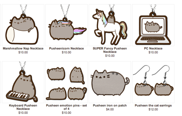 Pusheen The Cat Super Fancy - Image Mag